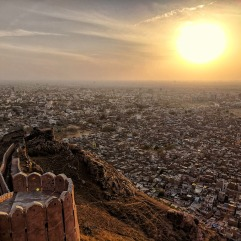 Sunset by Nahargarh Fort