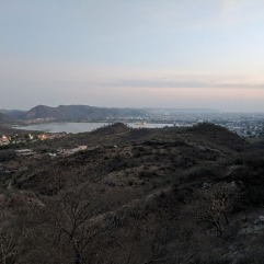 Jaipur and Jal Mahal from Nahargarh